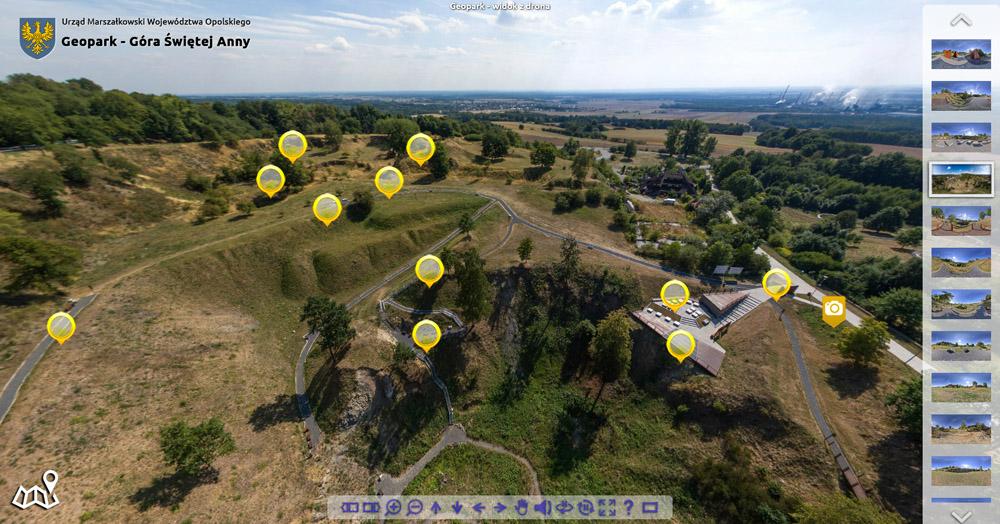zdjęcia z powietrza, wirtualne wycieczki