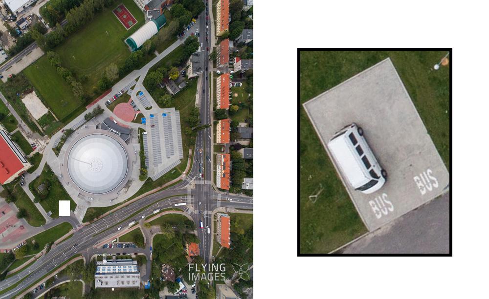 zdjęcie z drona, panorama miasta z drona,
